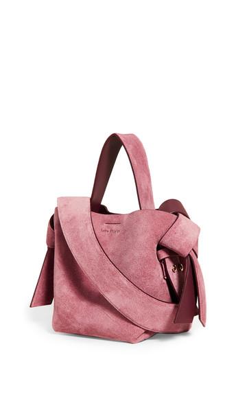 Acne Studios Musubi Micro Bag in pink