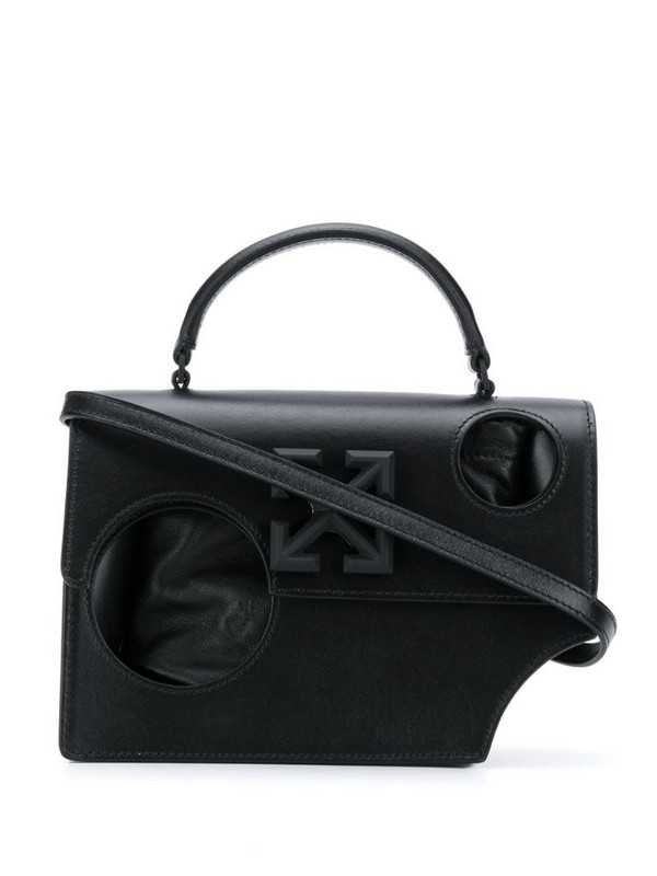 Off-White Jitney 1.4 hole tote in black