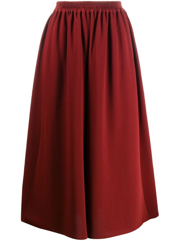 See by Chloé full midi skirt in red