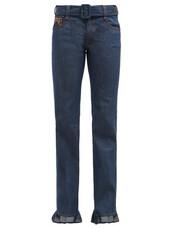 jeans,cuffed jeans,denim,ruffle