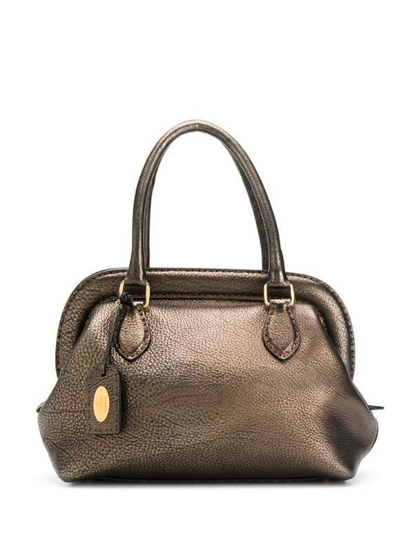 Fendi Pre-Owned top handles tote in brown
