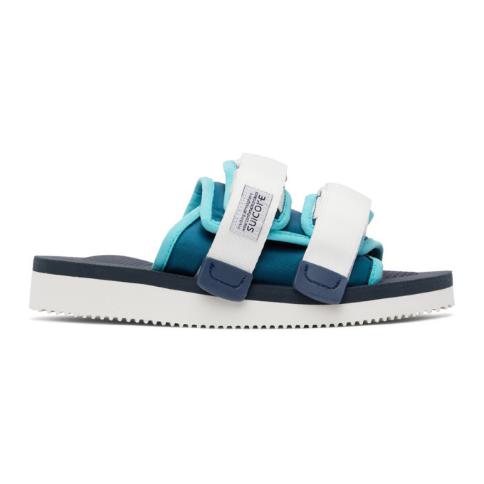 Suicoke Multicolor MOTO-CAB Sandals in blue