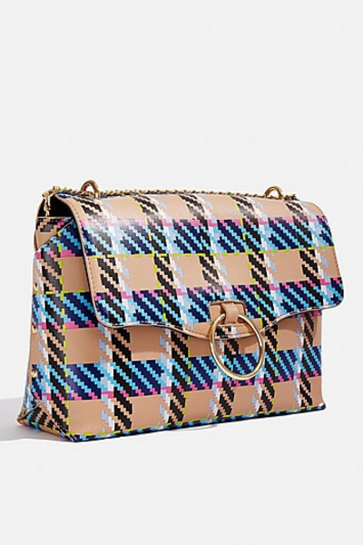 Skinny Dip *Casey Checked Cross Body Bag By Skinnydip - Multi