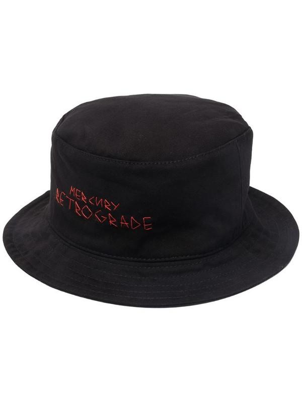 Ruslan Baginskiy logo-embroidered bucket hat in black