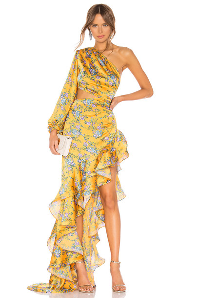 Bronx and Banco Hanna Gown in yellow
