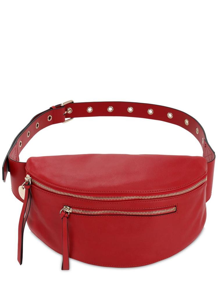 RED V Leather Belt Bag