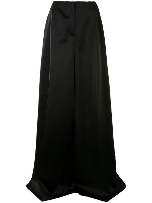 Carolina Herrera high-waisted palazzo trousers in black