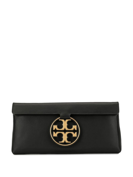 Tory Burch Miller Metal clutch in black