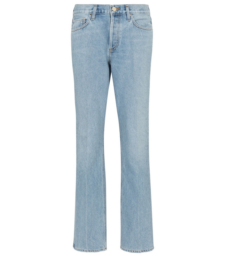 Goldsign Nineties high-rise bootcut jeans in blue