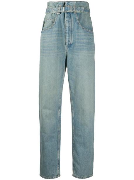 Isabel Marant Étoile Gloria high-rise jeans in blue