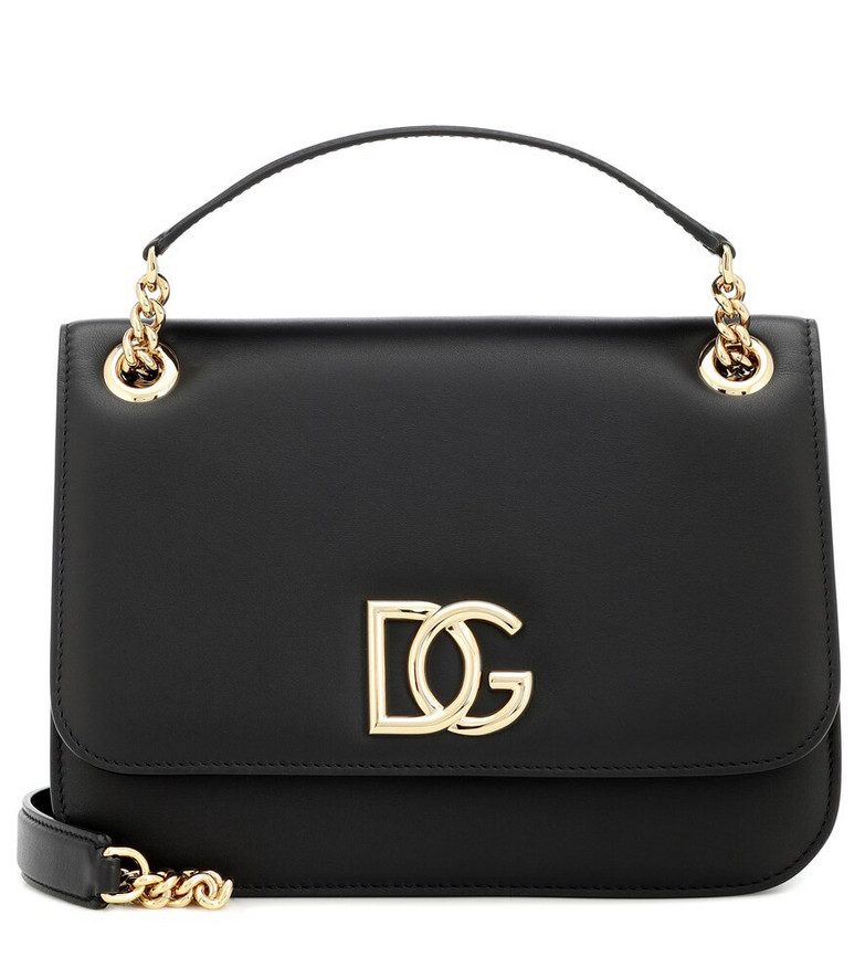 Dolce & Gabbana DG Millennials Small shoulder bag in black