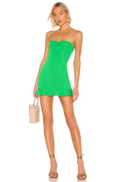 Privacy Please Aiden Mini Dress in green