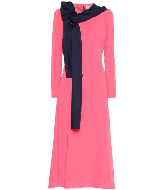 Roksanda Marira silk-georgette maxi dress in pink
