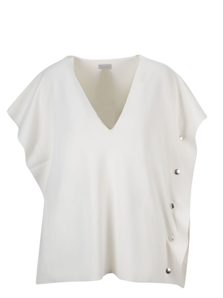 Mrz Eyelet Top in white