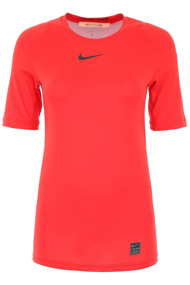 Alyx Nike Logo T-shirt in red