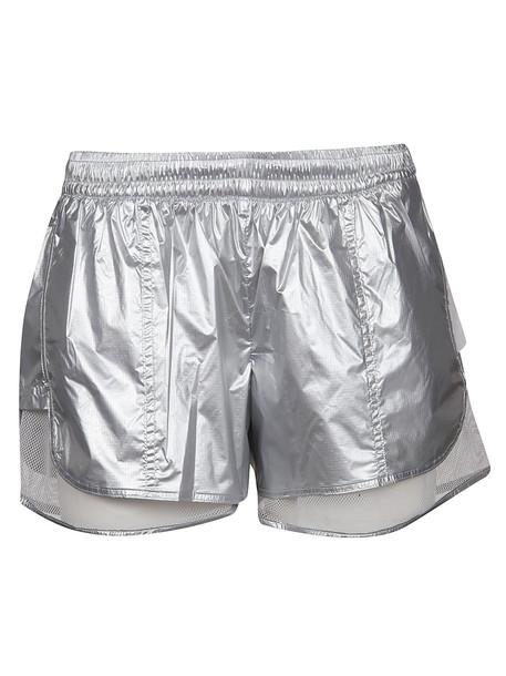 Adidas By Stella Mccartney Running Shorts in silver