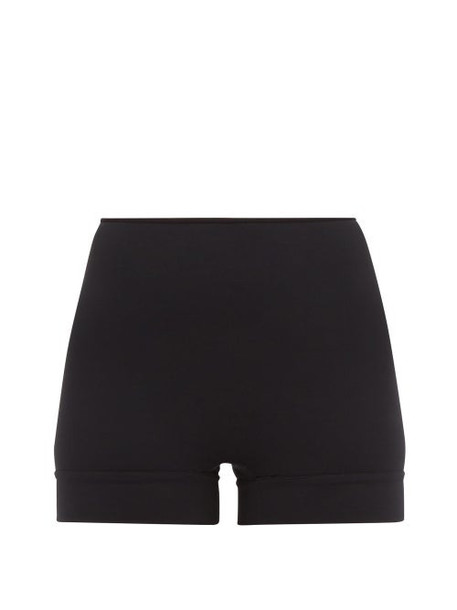 Wone - High Rise Performance Shorts - Womens - Black
