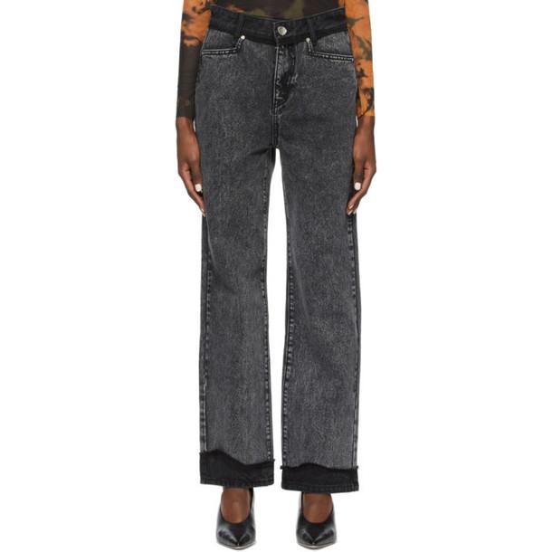 ADER error Black Innersy Jeans