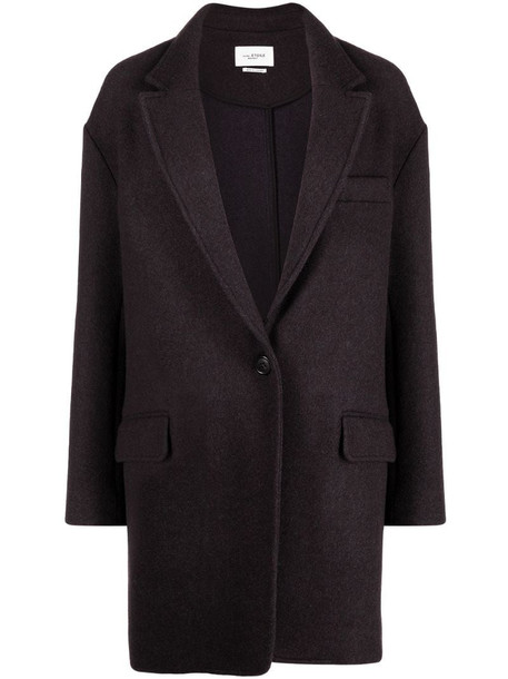 Isabel Marant Étoile Latty buttoned-up coat in grey