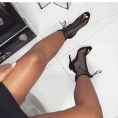 shoes,booties,lace up,heels,lace-up shoes