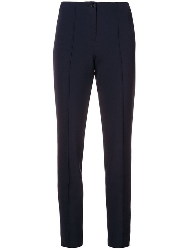 Cambio skinny trousers in blue