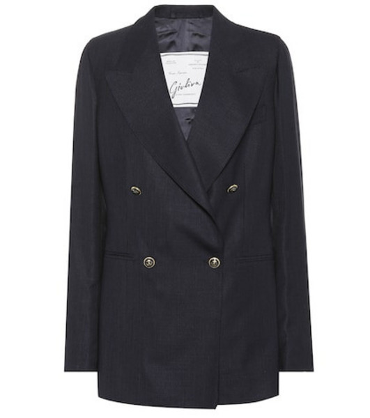 Giuliva Heritage Collection The Stella wool blazer in blue
