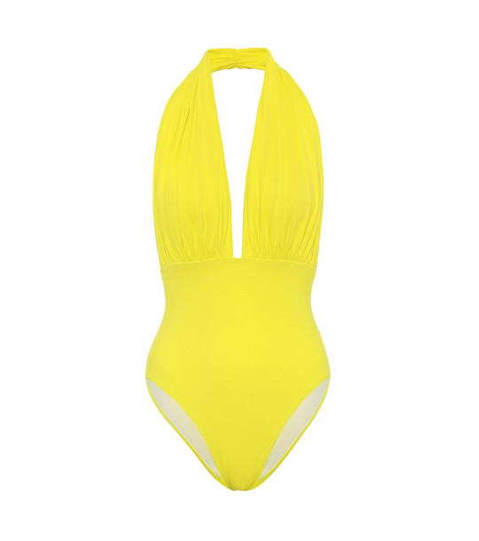Norma Kamali Exclusive to Mytheresa – Mio swimsuit in yellow