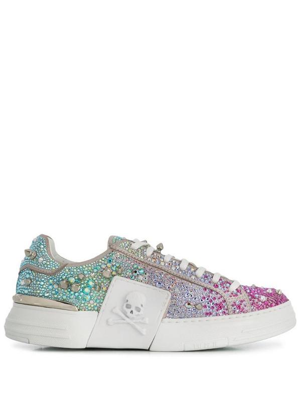 Philipp Plein Low-top PHANTOM KICK$ sneakers in blue