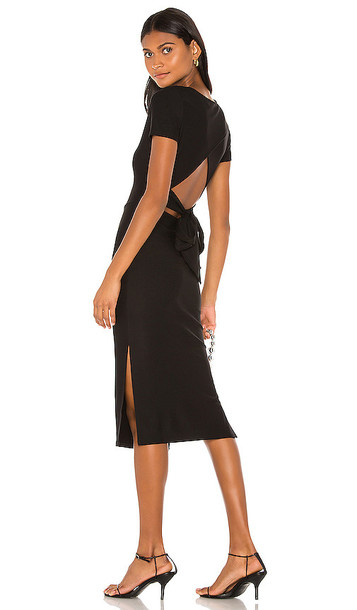 Lovers + Friends Lovers + Friends Holliston Midi Dress in Black