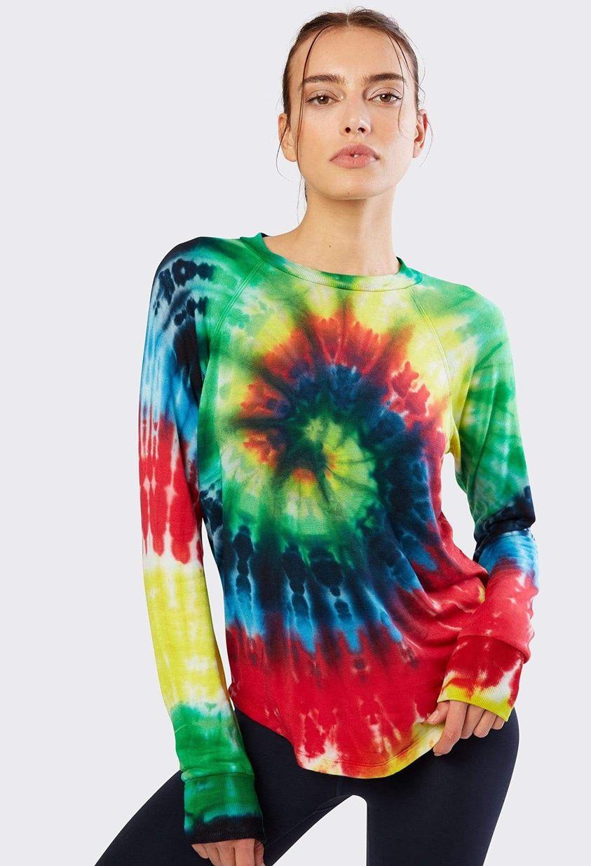 WarmUp Pullover - Tie Dye