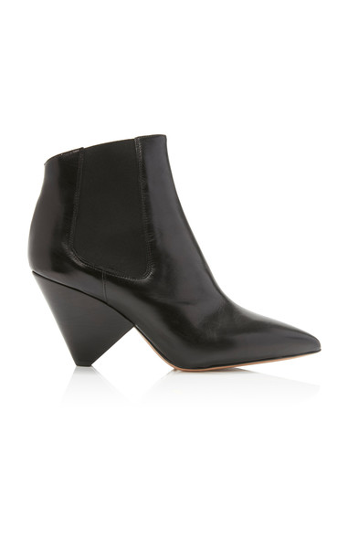 Isabel Marant Lashby Leather Ankle Boots Size: 39