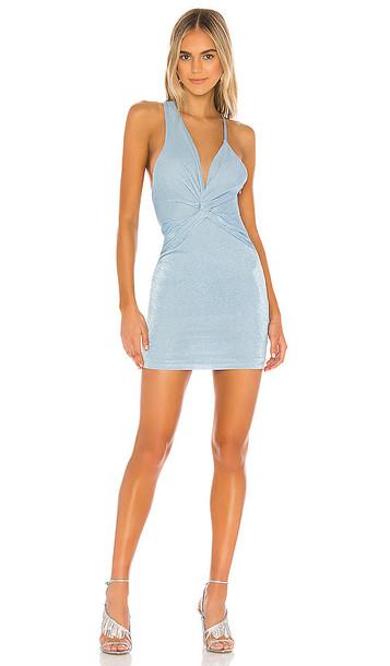 superdown Sinead Mini Dress in Blue