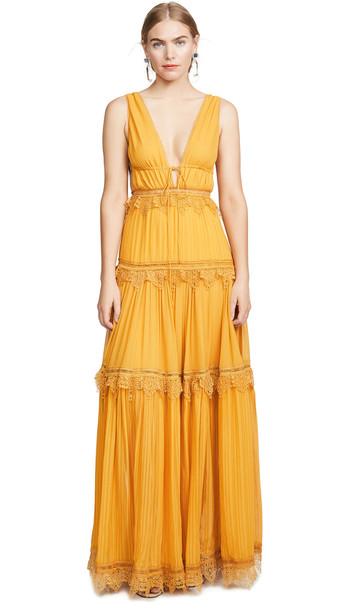 Jonathan Simkhai Open Back Maxi Dress