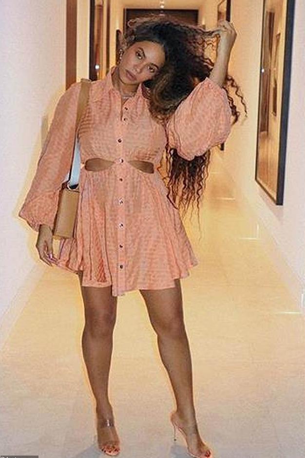 dress peach beyonce celebrity sandals sandal heels