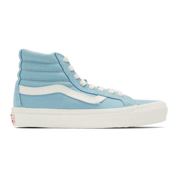 Vans Blue OG Sk8-Hi LX Sneakers