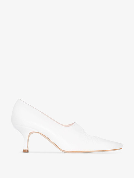 Kalda white Peka 55 pumps