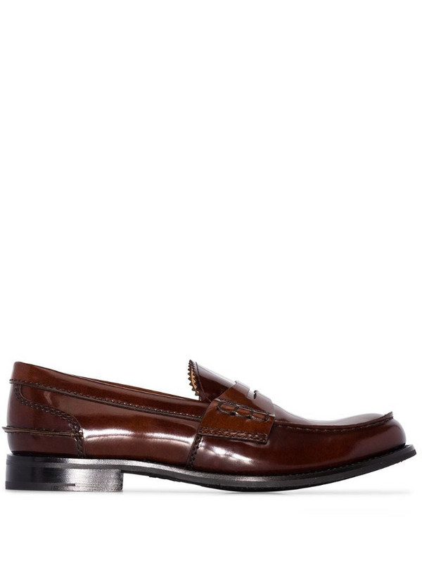 Church's Pembrey penny loafers in brown