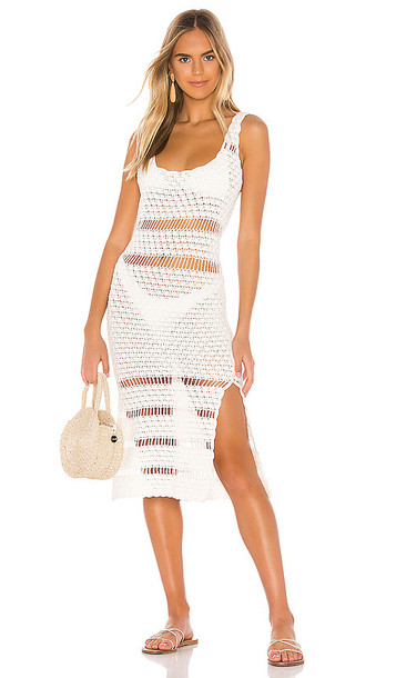 Cleobella Bardot Dress in Ivory