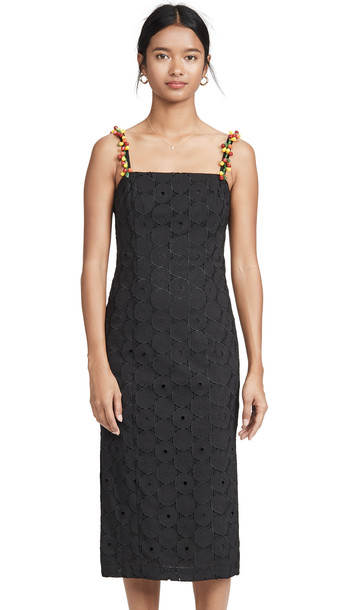 STAUD Cocomaya Dress in black