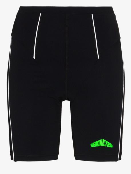 Heron Preston Active bikers shorts in black