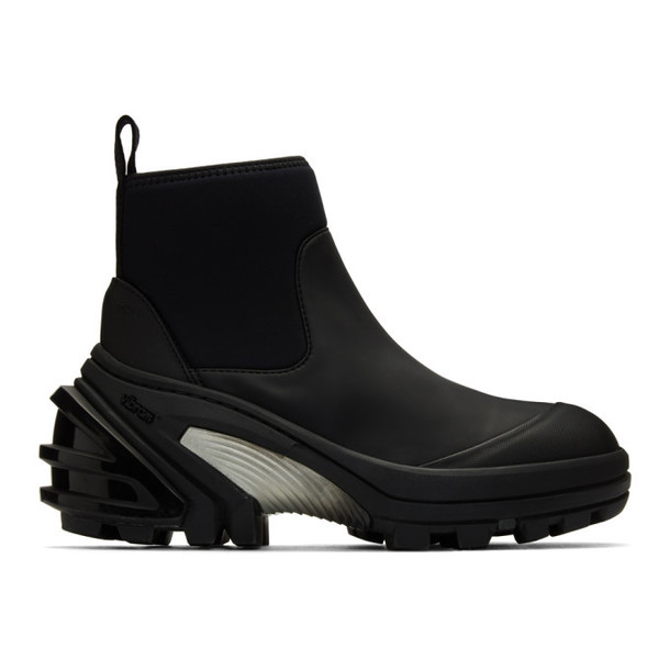 1017 ALYX 9SM Black Fixed Sole Mid Boots