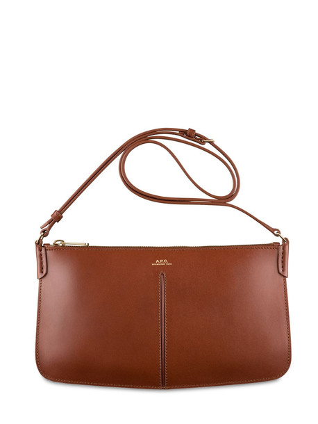 A.P.C. Betty Smooth Leather Shoulder Bag