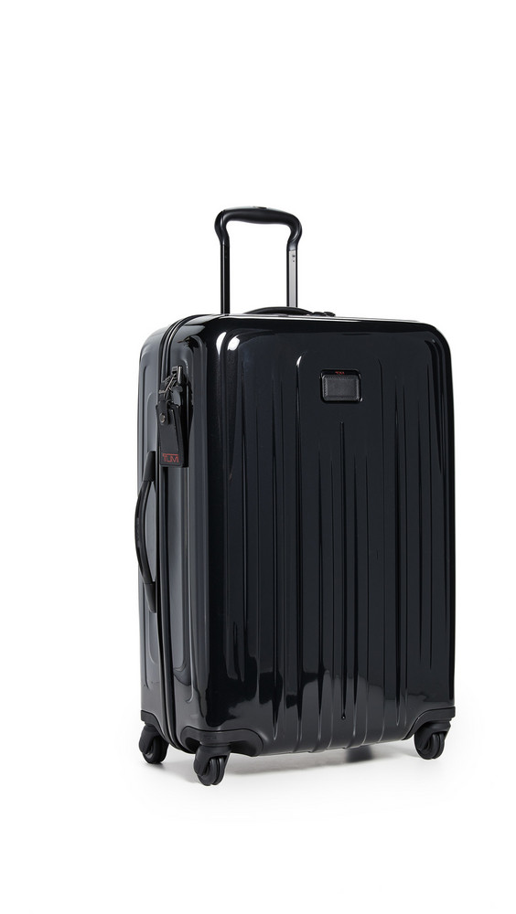 Tumi V4 Short Trip Expandable 4 Wheel Packing Case in black