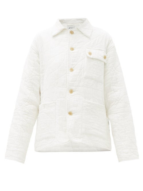 Bode - Quilted Cotton Jacket - Womens - White