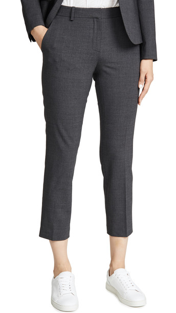 Theory Treeca 2 Pants in charcoal