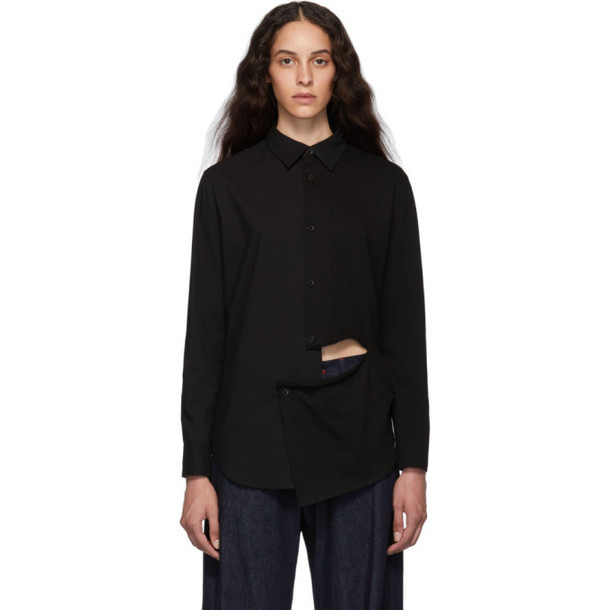Ys Black Slash Shirt