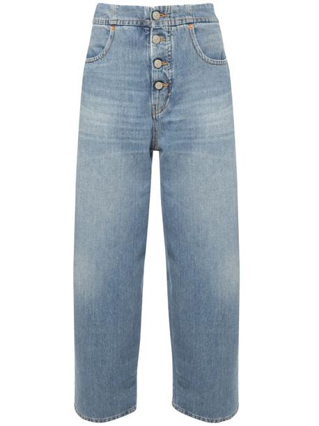 MM6 MAISON MARGIELA Rianna Cotton Denim Jeans in blue