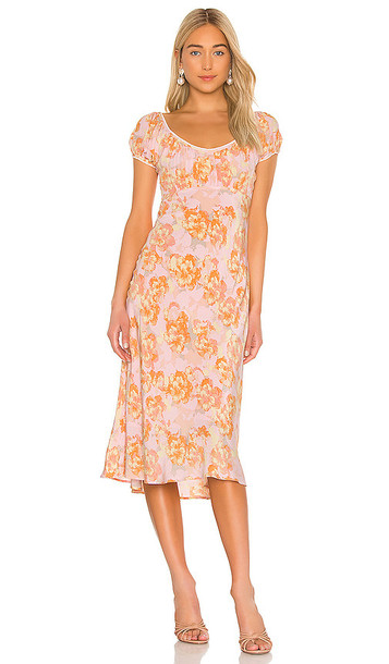 ASTR the Label Caprice Dress in Pink