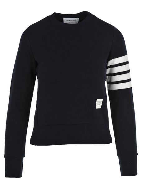 Thom Browne Classic Sweatshirt in navy