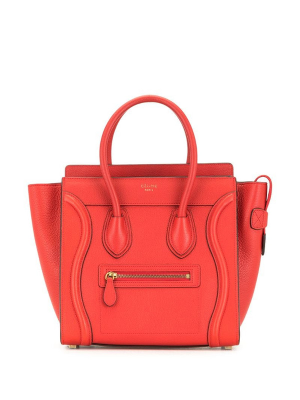 Céline Pre-Owned pre-owned mini Luggage tote bag in red